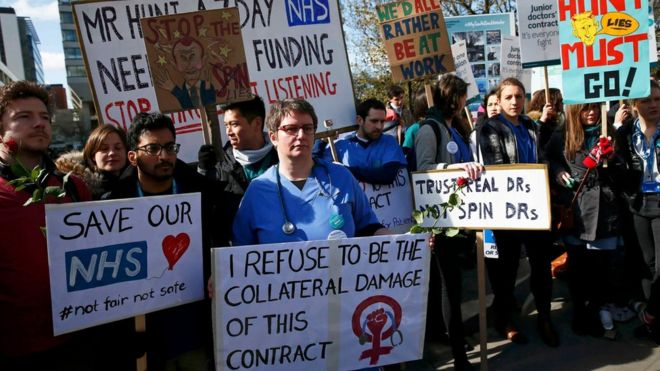 Image result for Junior doctors call new strikes