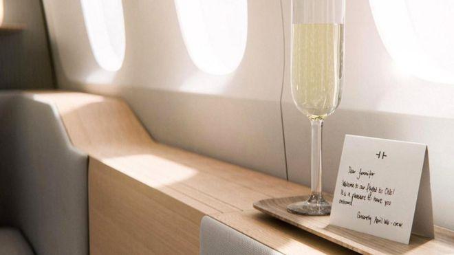 В полете, как дома. Будущее авиаперелетов для состоятельных пассажиров
