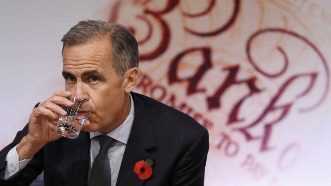 英国央行上调未来两年通胀预期