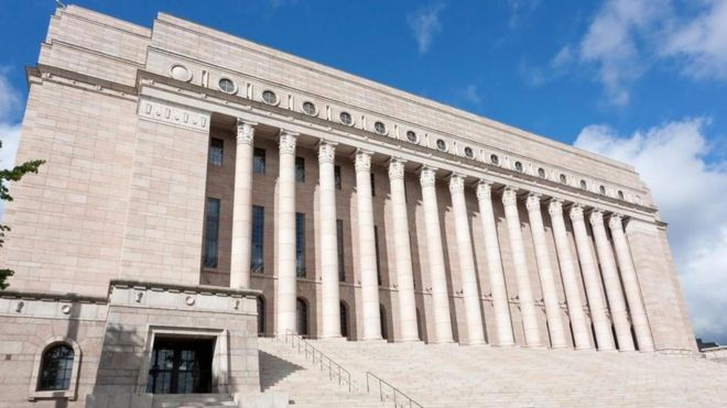 Casa del Parlamento, Finlandia, 1926-31