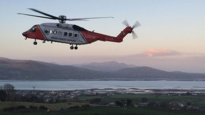 Irish coast guard s92