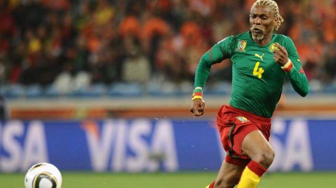 Mchezaji wa zamani wa tomu ya taifa ya Cameroon Rigobert Song