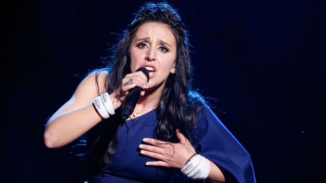 Ukraine's winning Eurovision entry Jamala