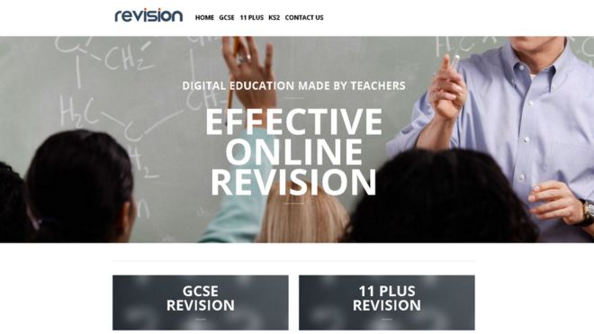 Revision app webpage