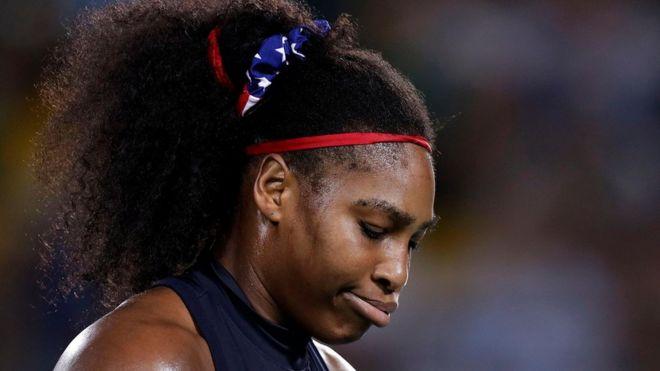 Serena Williams derrotada