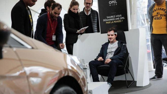 Projeto Opel Mind, em Paris