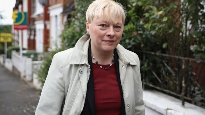 Angela Eagle who recently resigned from the shadow cabinet