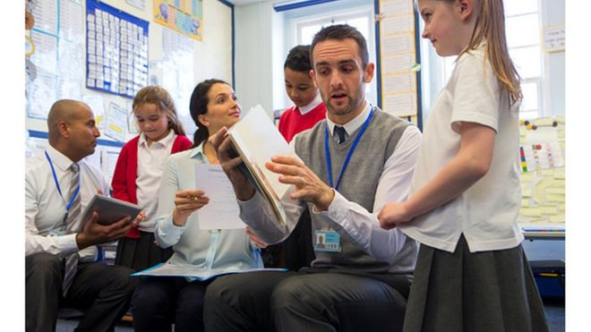 In the UK, it's a different kind of school system than the US. How does it work?