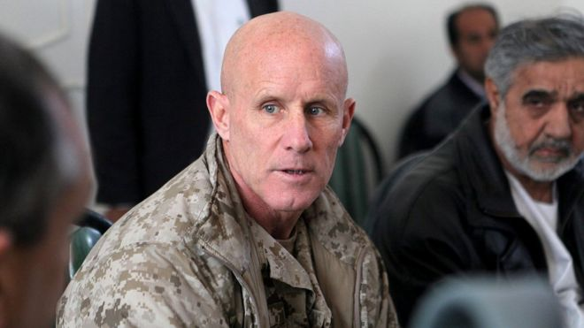 Retired Vice-Admiral Robert Harward