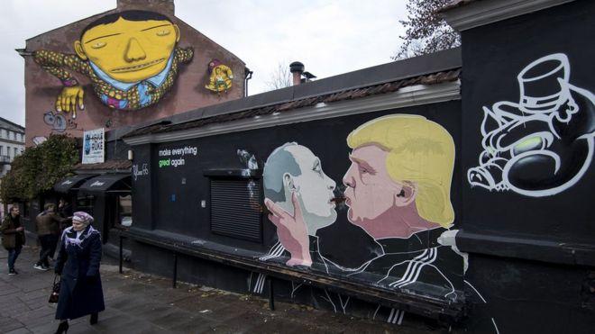 Graffiti in Lithuania