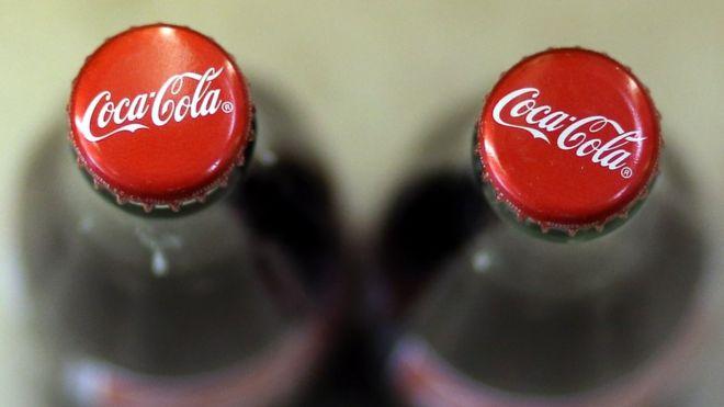 Chupa Coca-Cola