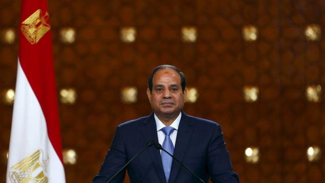 Egypt President Sisi Egypt's President Abdul Fattah