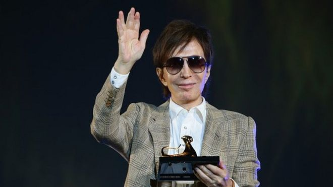 Director Michael Cimino receives the Pardo D'Onore Swisscom( (09 August 2015)