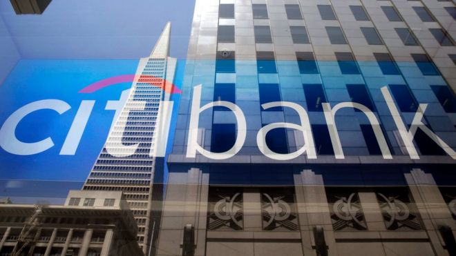 Fachada do Citibank