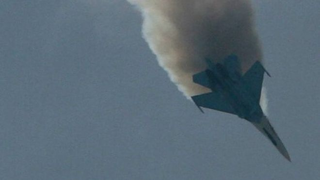 A Russian SU-27 Flanker, 25 August 2007