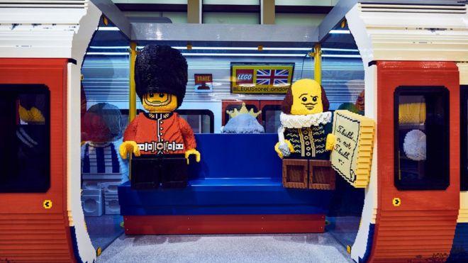 Крупнейший вмире магазин Lego открылся встолице Англии