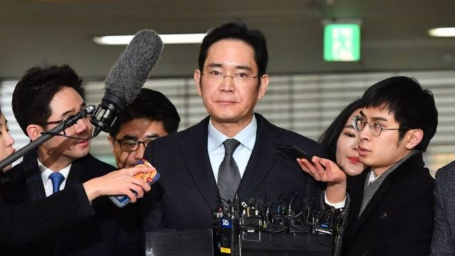 Samsung's Lee Jae-yong