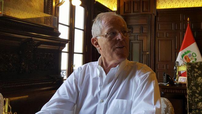 PERU: Entrevista exclusiva de BBC Mundo al presidente Pedro Pablo Kuczynski