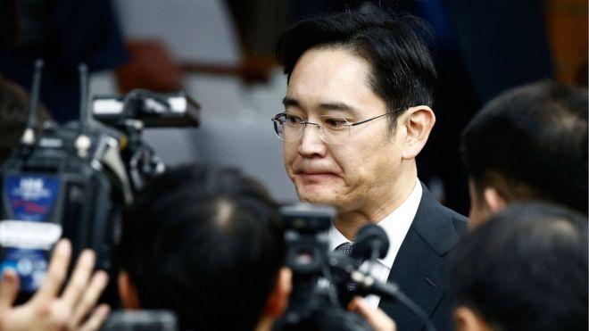 韩国检察官要求逮捕三星领导人李在熔