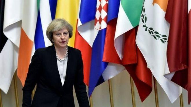 英首相宣布「脱欧路线图」 欧盟各国作出反应