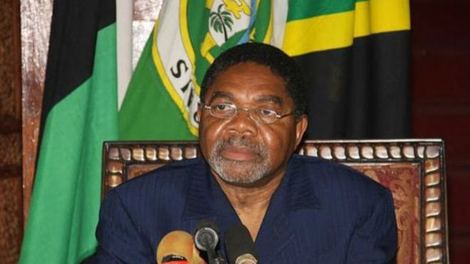 Rais wa kisiwa cha Zanzibar Ali Mohamed Shein asema hatishwi na vitisho vya Tanesco