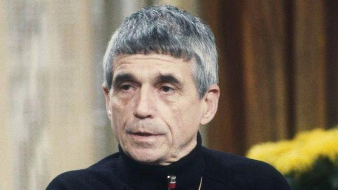 Daniel Berrigan in February 1981
