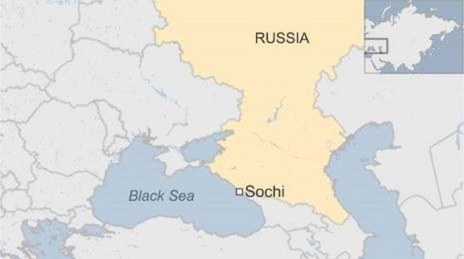 俄罗斯飞机从雷达消失在索契