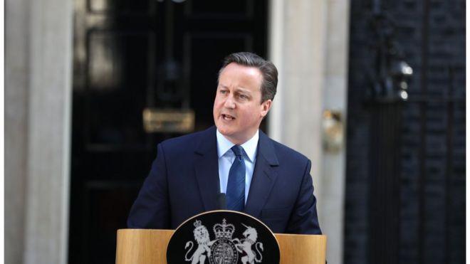 David Cameron anuncia su dimisi�n como primer ministro de Reino Unido luego de la victoria del Brexi