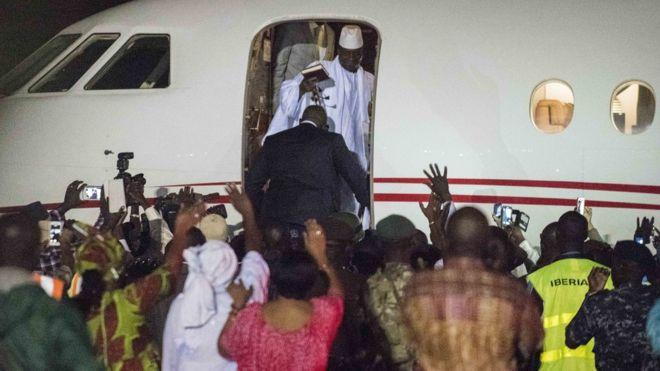 Jammeh, Gambie