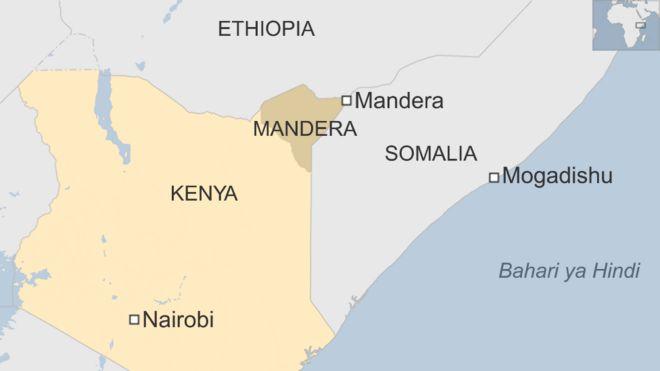 Eneo la Mandera limekuwa likishambuliwa mara kwa mara na wapiganaji wa al-Shabaab