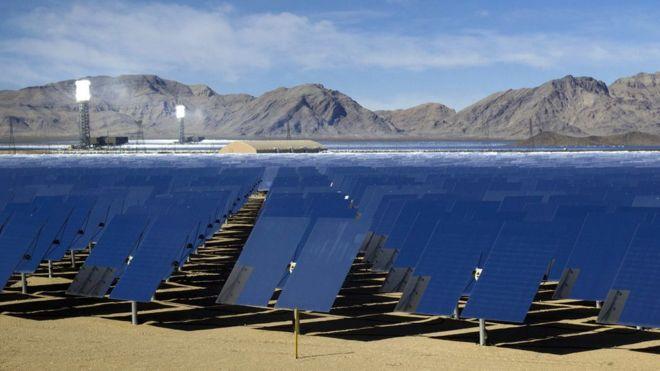 Instalación solar Ivanpah