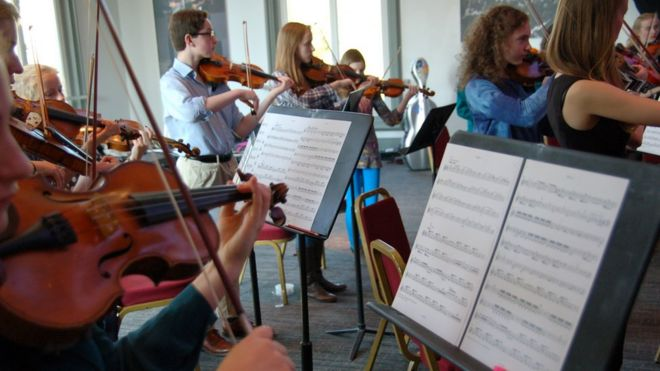 Young string players