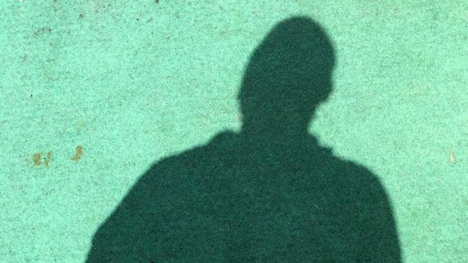 Shadow of a man