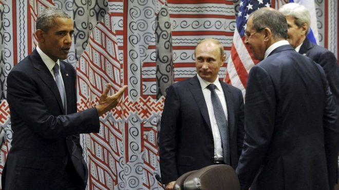 Obama alisema kuwa alikuwa amemuounya Putin kuhusu hatua kali wakati wa mkutano wa mwezi Septemba.