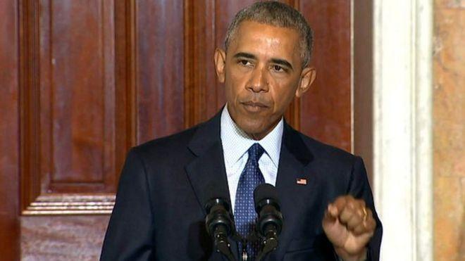 Rais Barrack Obama wa Marekani