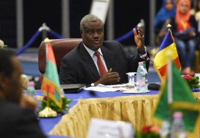 Waziri wa mashauri ya nchi za kigeni wa Chad Moussa Faki