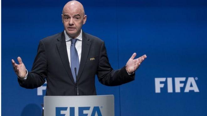 国际足联主席因凡蒂诺是这次改革的主要推动者。