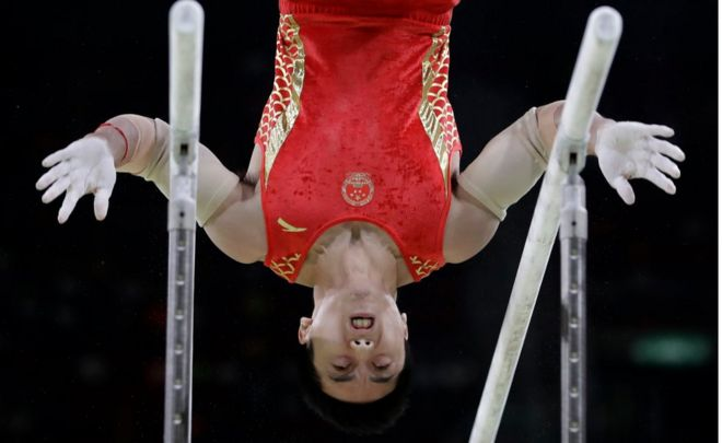 Is this a good concluding paragraph in an essay about Chinese gymnasts?