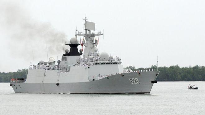 Tàu hải quân Trung Quốc thăm Myanmar, Malaysia và Campuchia tháng 10/2016