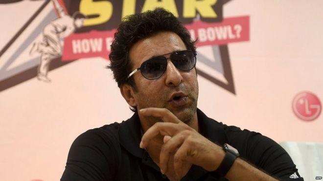 84682635 hi028402620 - Shots fired at Pakistan cricketer Wasim Akram's car