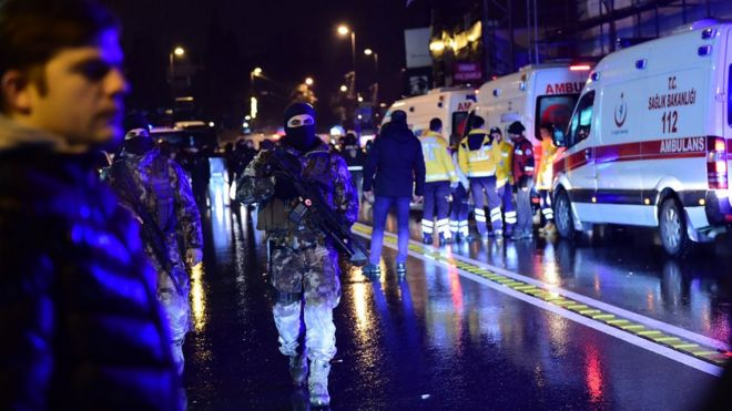 ИГ взяла ответственность за нападение на клуб в Стамбуле