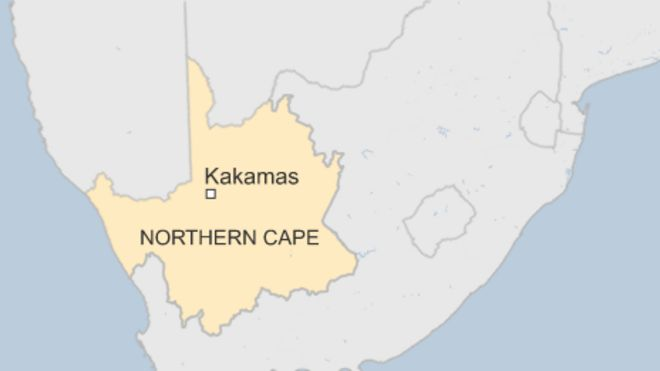 map of kakamas