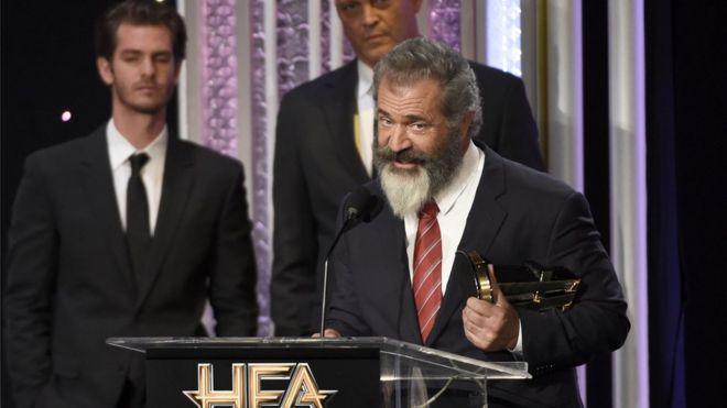 Mel Gibson at Hollywood Film Awards