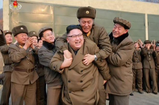 Picha ya Kim Jong-un 19 Machi 2017