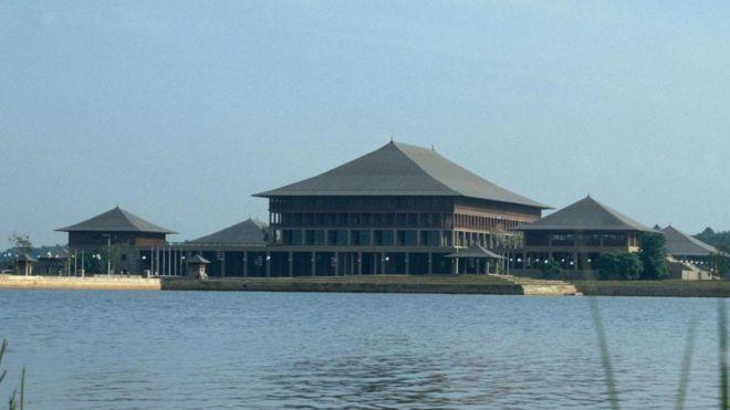 Edificio del Parlamento, Sri Lanka, 1979-82