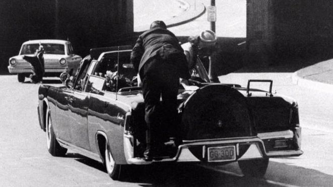 Still image of JFK assassination