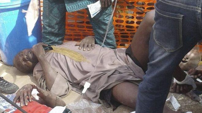 Nigeria air strike error kills dozens of people in refugee camp