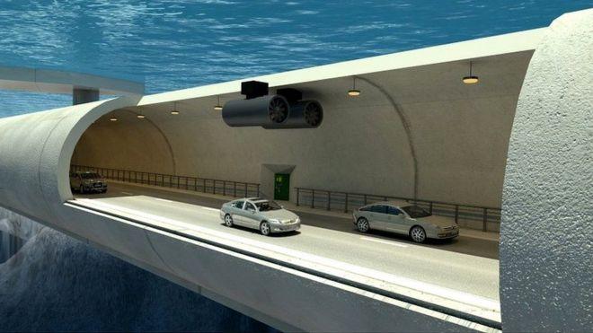 Noruega projeta estrada que 'perfura' fiordes com túneis submarinos e pontes flutuantes