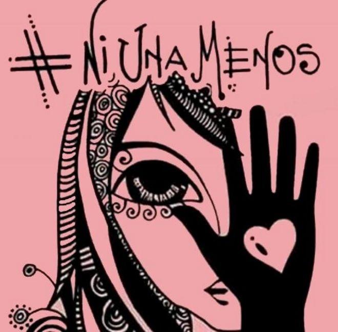 ¿Quién está detrás de la imagen de la campaña #NiUnaMenos que se volvió viral?