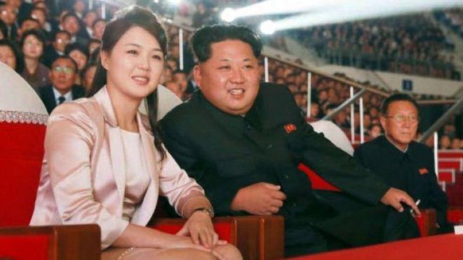 Rais Kim Jong-un na mkewe Ri Sol-ju